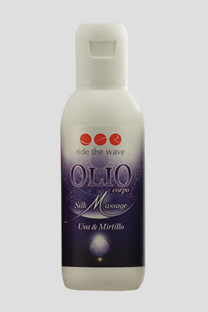Olio per Massaggi Ride The Wave Uva e Mirtillo 100ml